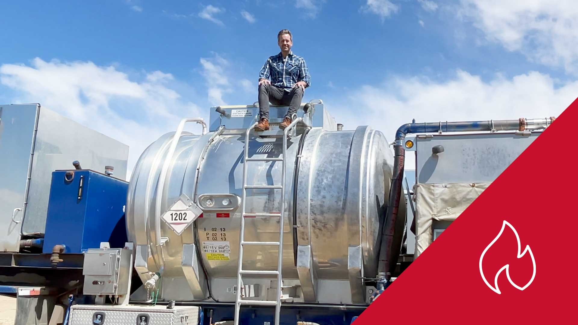 Just Listed! Three New & Slightly-used Surplus 38 MMBTU Fracking / Frac Water Heater Trailers for Sale in Alberta Canada