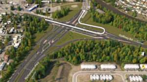 GARS Eastbound Left Turn