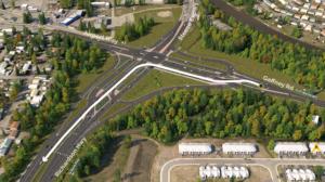 GARS Westbound Left Turn Lane