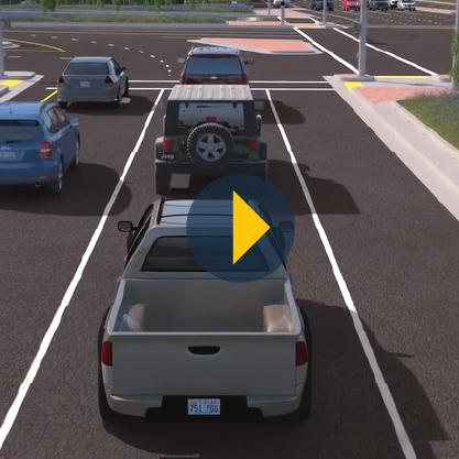 Westbound Left Turn Video