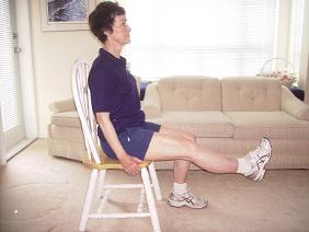 Home exercises for knee and hip replacement and arthritis