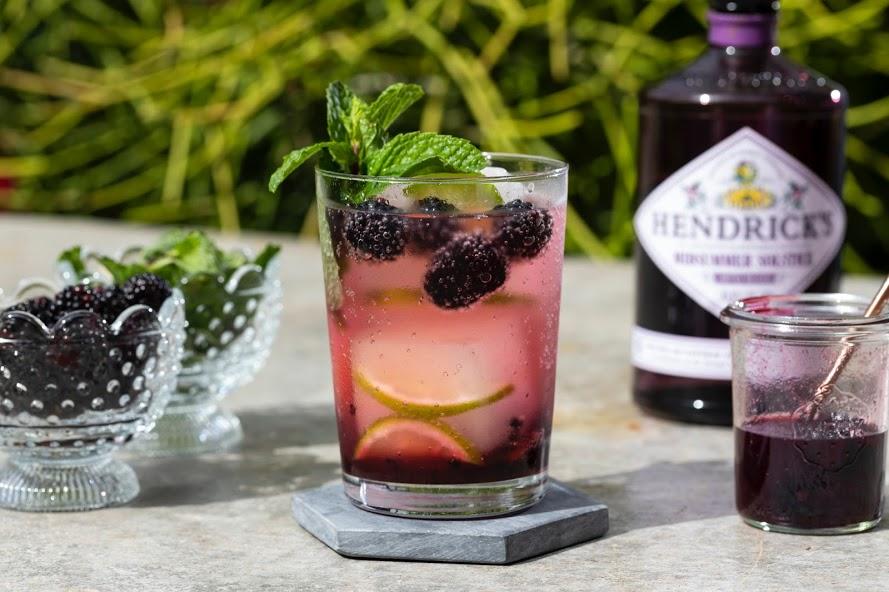 blackberry gin splash