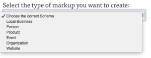 schema markup tool