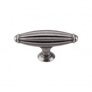 Tuscany Small T-Handle 2 5/8 Inch - Pewter Antique