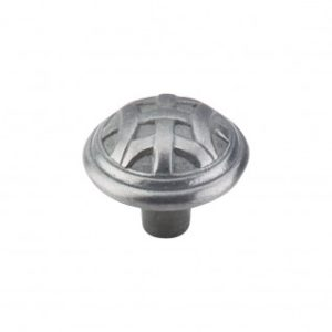 Celtic Large Knob 1 1/4 Inch - Pewter Light
