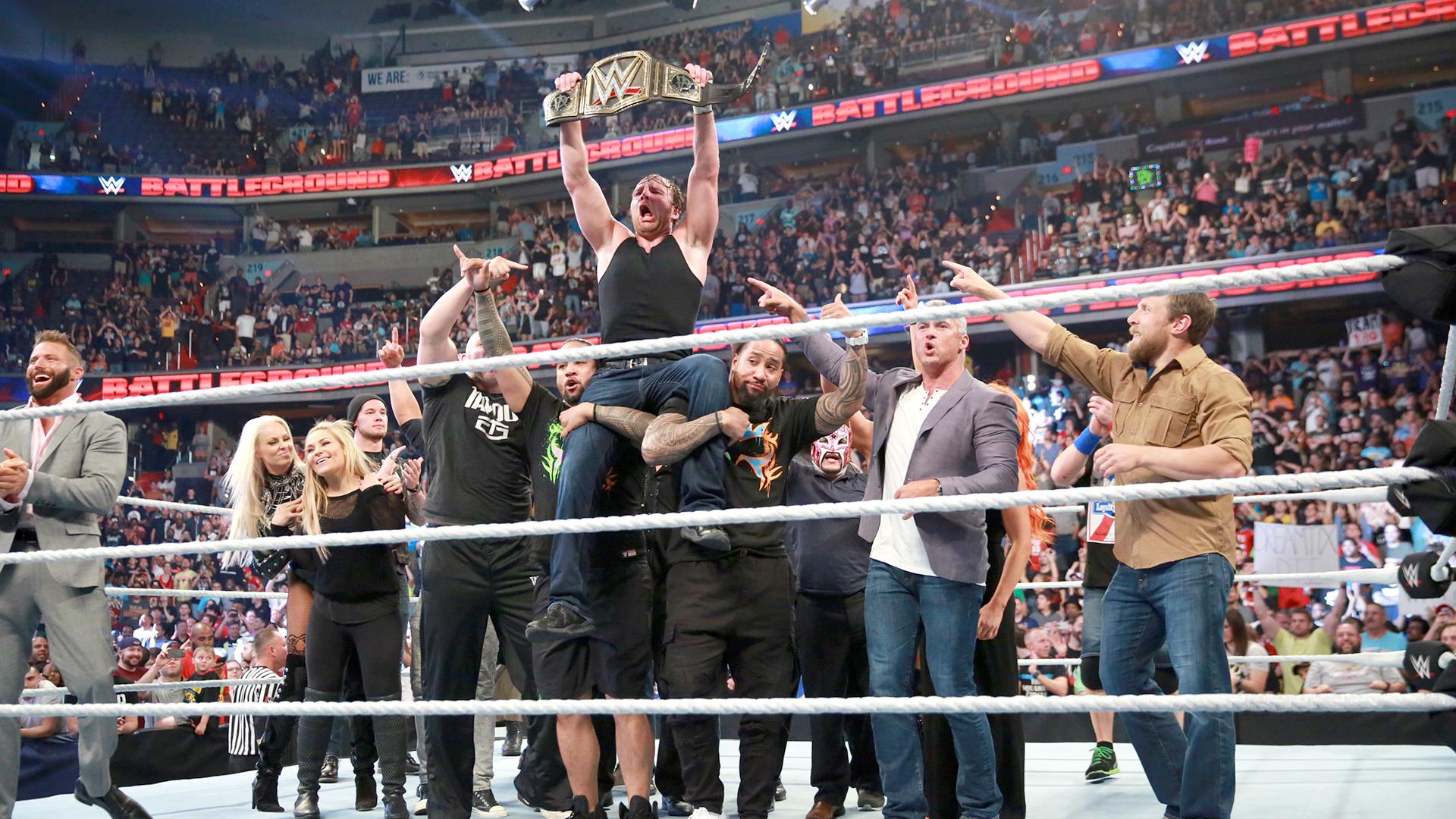 WWE Battleground Review 07/24/2016