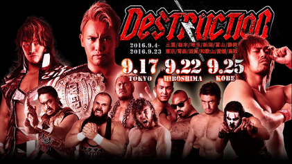 """NJPW """"DESTRUCTION in TOKYO"""" Results & Review"""