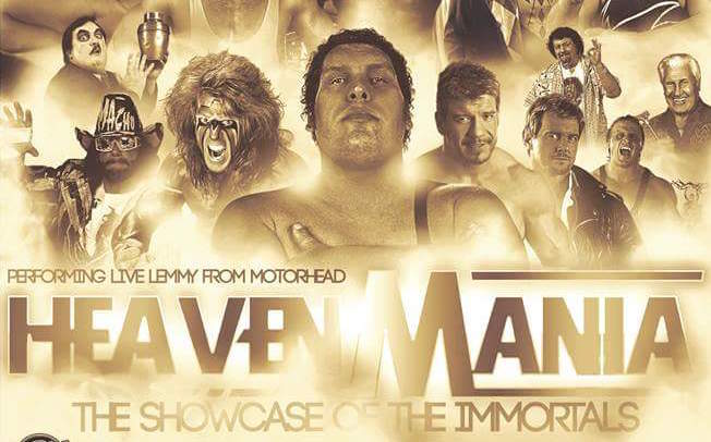 TWC Fantasy Booking – HeavenMania – The Showcase of the Immortals