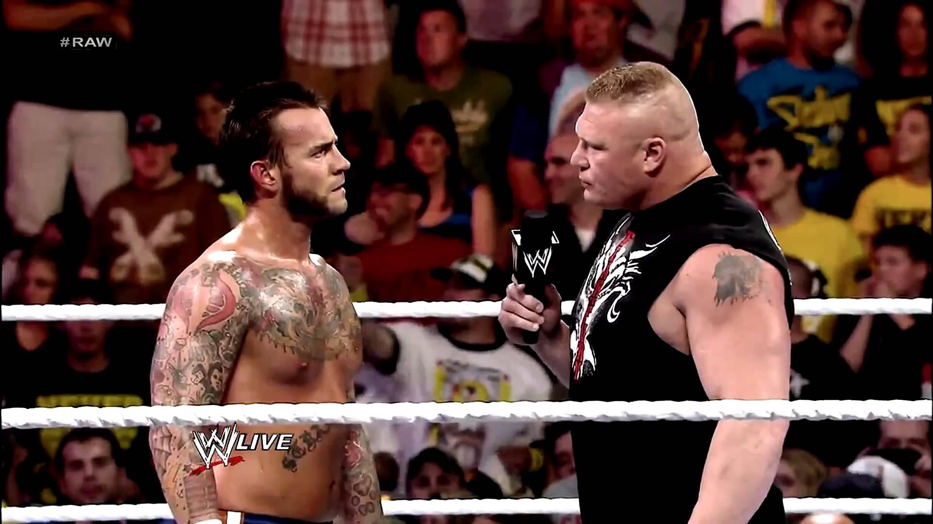 CM Punk vs Brock Lesnar – An All Time Classic