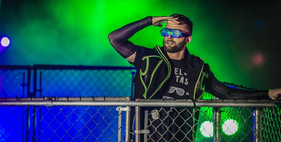 ECCW Ballroom Brawl V – Steel Cage: Scotty Mac vs. El Phantasmo – January 16th 2016