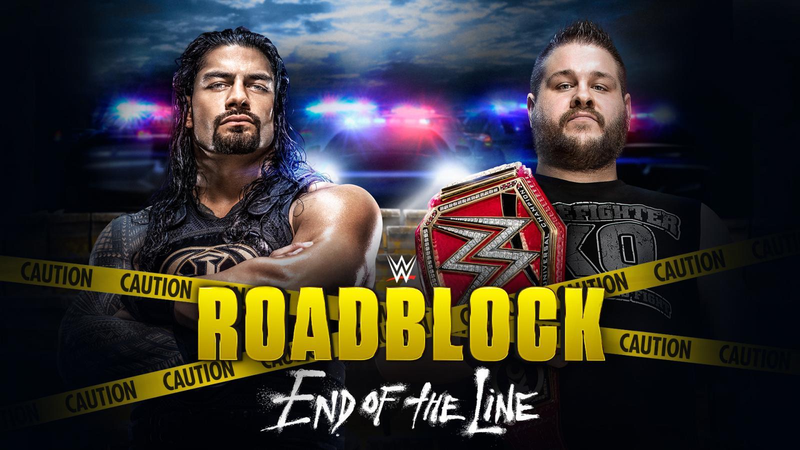 WWE Roadblock: End of Line Predictions