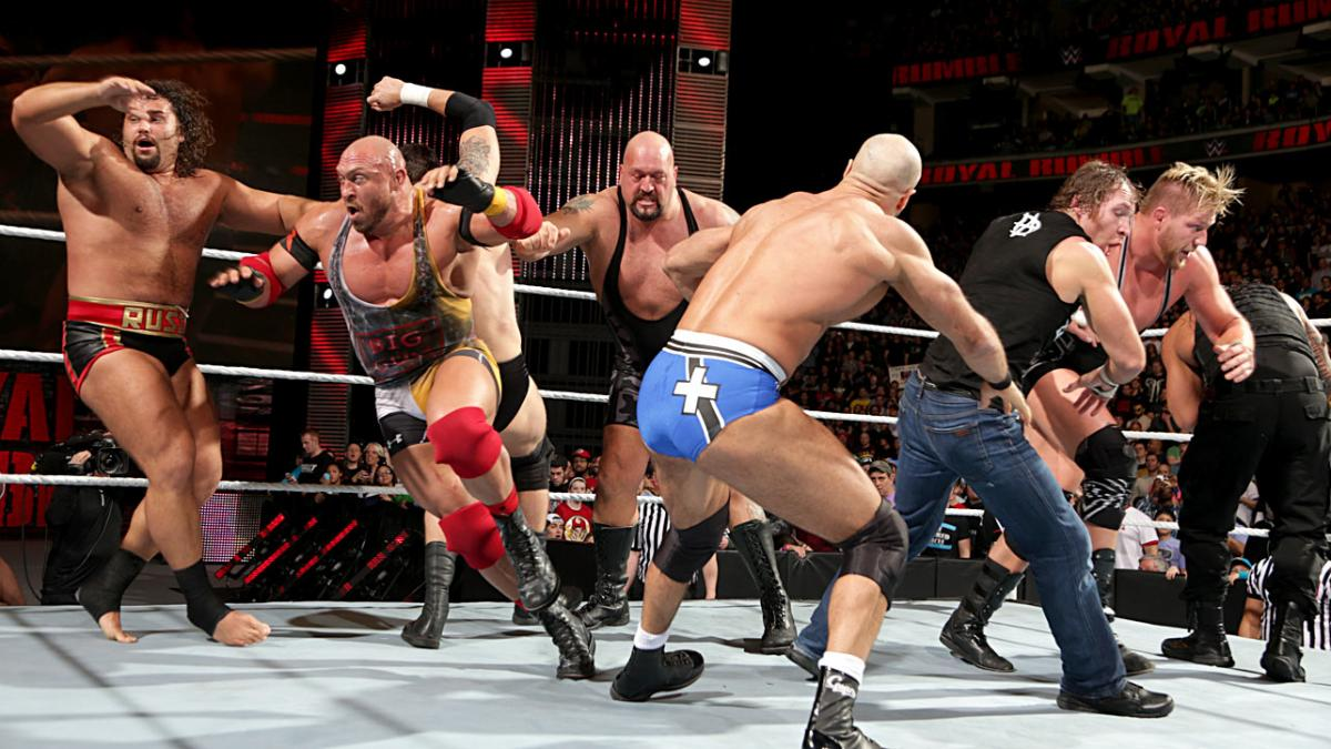 Top Ten Royal Rumble Matches of All Time