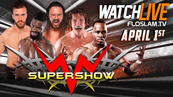 Mercury Rising WWN Supershow 4/1/17 Review