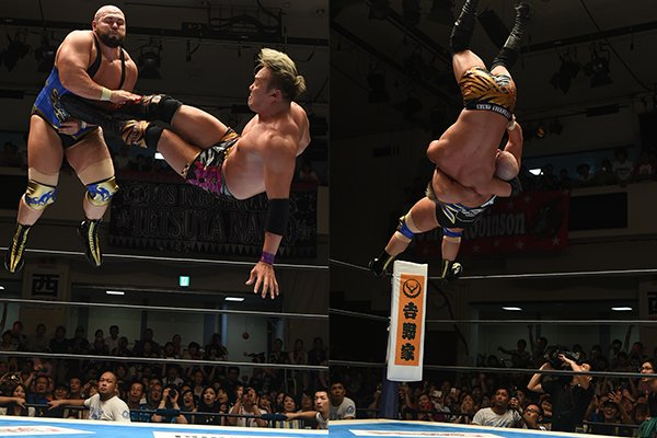 Jordan's NJPW G1 Climax 2017 Day 4 Review