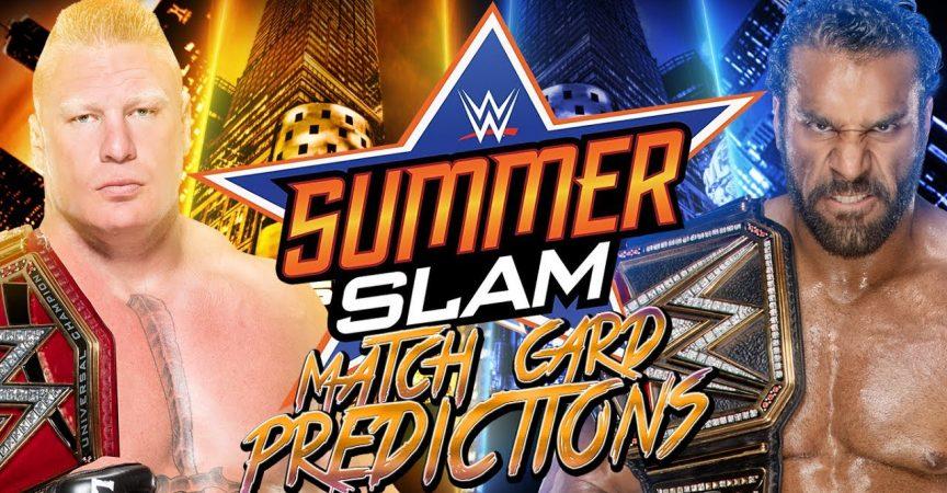 WWE Summerslam 2017 Predictions