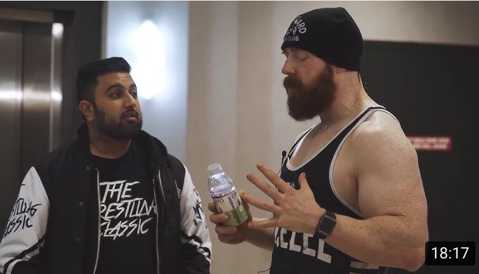 """Interview with WWE's """"Celtic Warrior"""" Sheamus – 02/24/2018"""