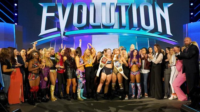 WWE Evolution Review 10/28/2018