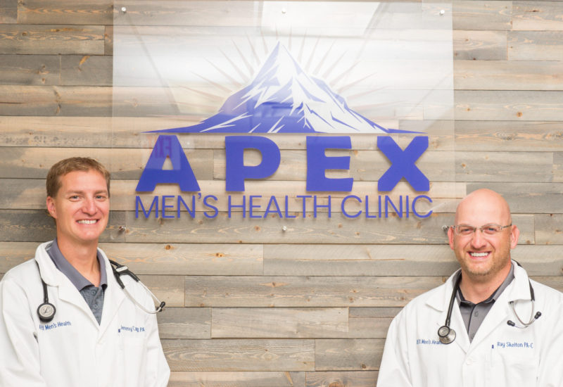 Jeremy Campbell and Ray Skelton at Apex Men's Health Clinic Omaha, NE