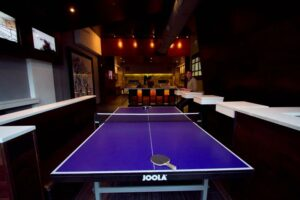 bar ping pong table