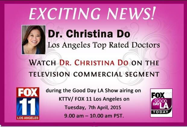 dr christina do - family dentist nipomo - on tv