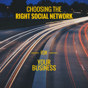 Choose the right social network