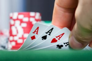 Gaming the system - Poker Hand