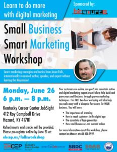 Small business, smart marketing Hazard
