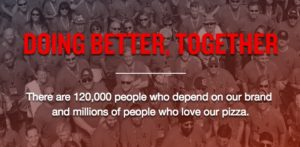 Papa John's Better Together Site Header