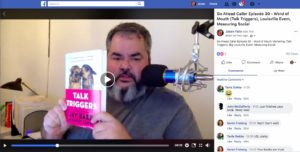 Jason Falls on Talk Triggers the Word of Mouth book from Jay Baer and Daniel Lemin