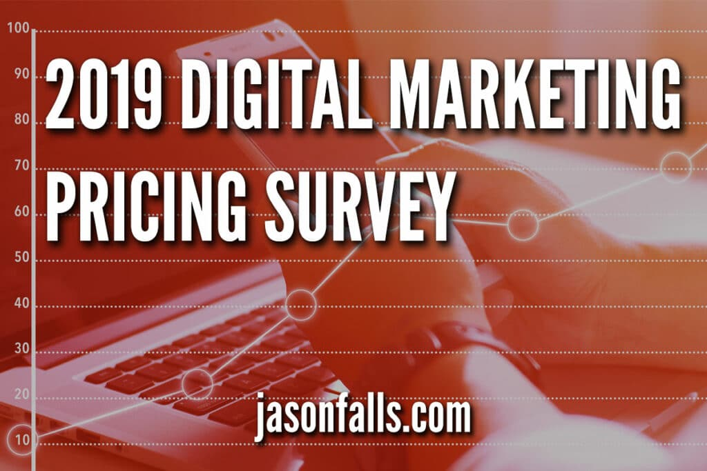 Marketing prices for digital services