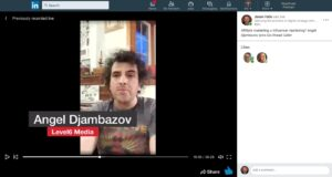 Angel Djambazov talking affiliate marketing with Jason Falls