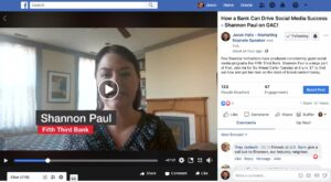 Shannon Paul discusses banking social media