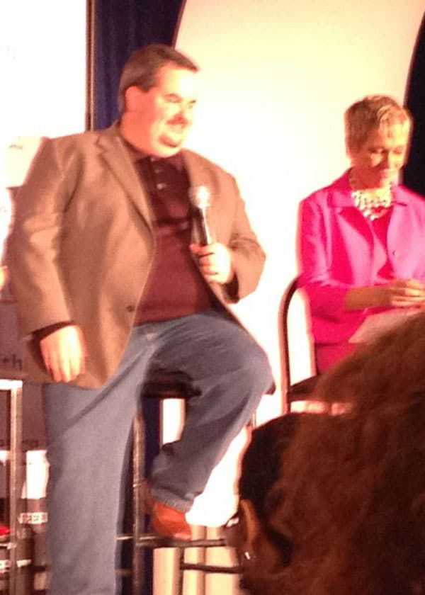 My panel discussion with Barbara Corcoran of Shark Tank fame