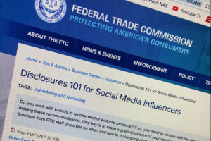 FTC Disclosure Guidance Issued