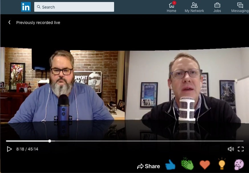 Tim Hayden talks personal data protection with Jason Falls