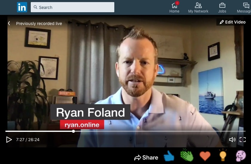Ryan Foland talks personal branding in business with Jason Falls