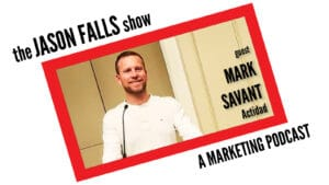 Influence and Content Marketing expert Mark Savant