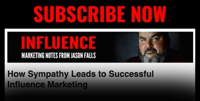 Subscribe to Monthly Influence Insights