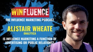 Alistair Wheate on Winfluence