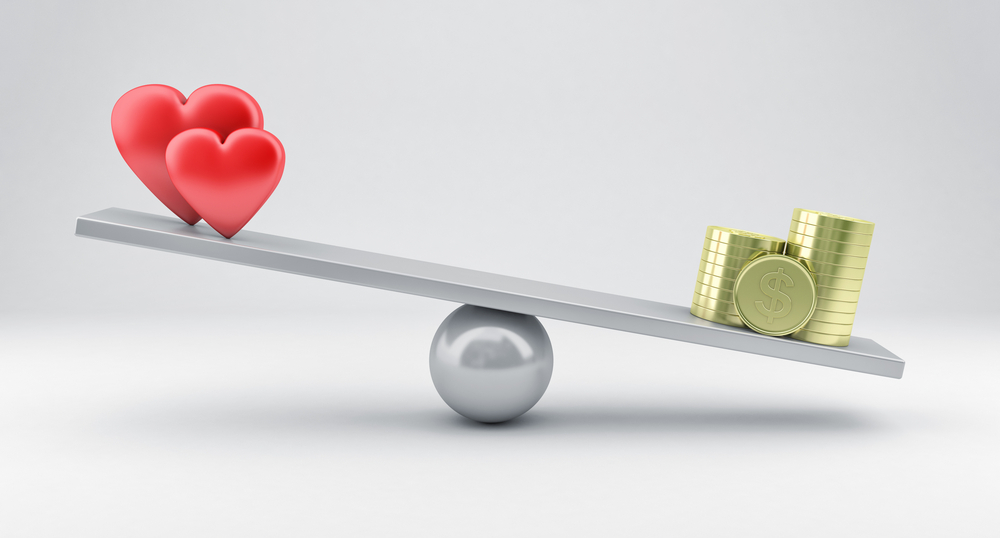 Stop Basing Your Self Worth On Money Because Love Is The End Game.