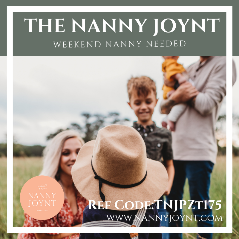 Weekend Nanny