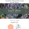 National Nanny Training Day Come BLOOM with us!