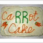 CaRRRRRRRRRRRRRRot Cake