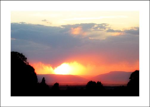 Ahhh . . . Summer Sunsets!