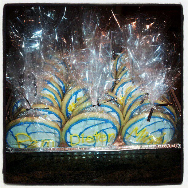 Volleyball . . . Cookies?