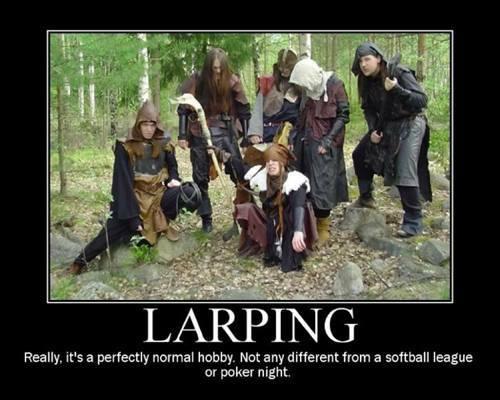 LARP-ing