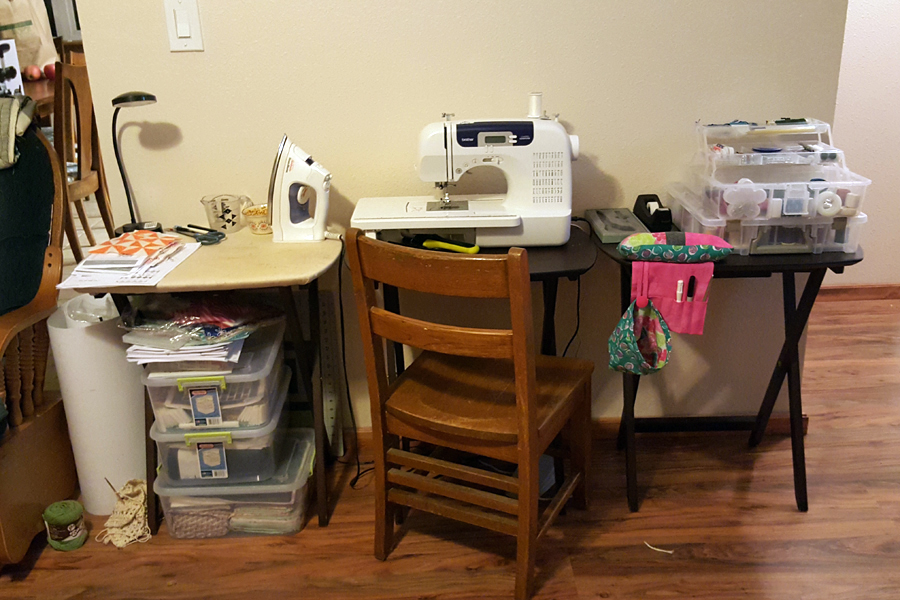 Love Your Sewing Space