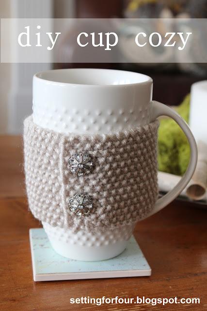 DIY Cup Cozy