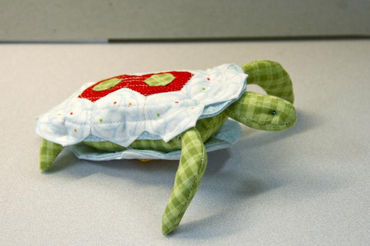 Turtle Pin Cushion Duo