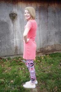 Maggie Top, Tunic, & Dress by Bella Sunshine Designs